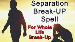 Break up spells for ex lovers back